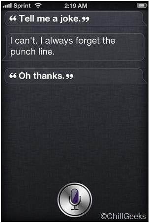 Create Fake SIRI Conversation Screenshots