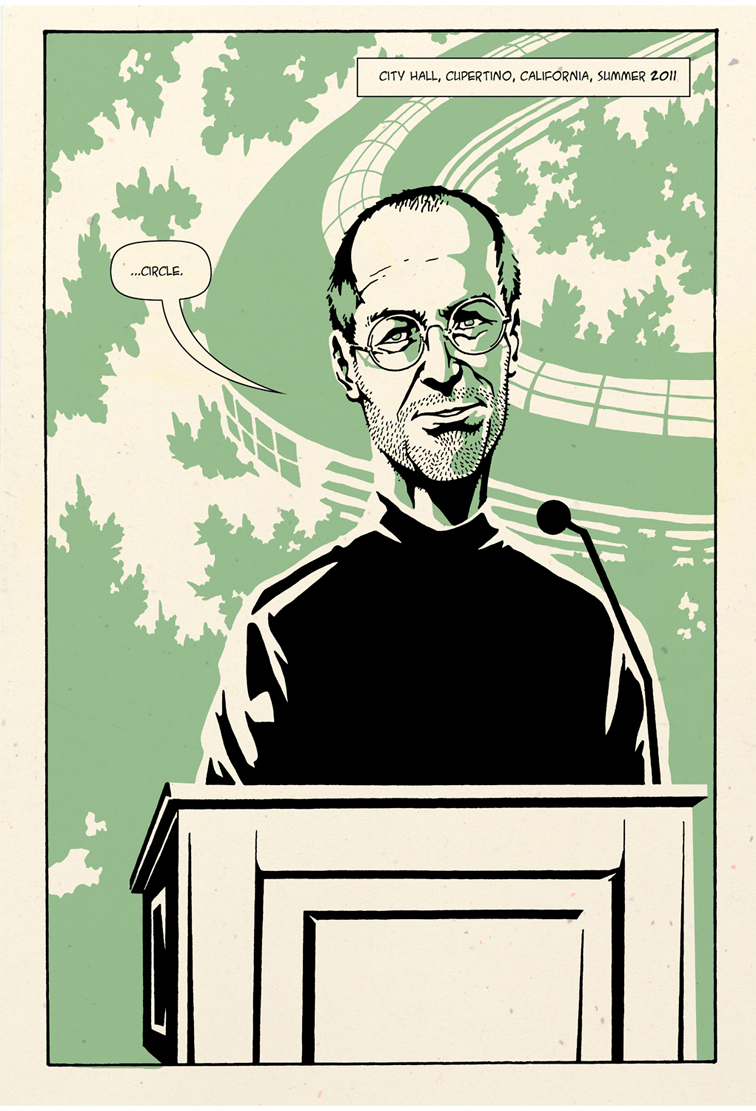 Now A Comic Book On Steve Jobs
